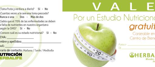 impresionarte-xativa-nutricion-herbalife-talonario-flyer-folleto-manzana-evaluacion-regalo-vale-gratis-nutricional-bienestar-corporal