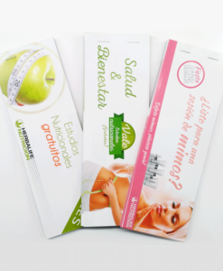 Talonario Estudio Nutricional, Salud&Bienestar, y Skin