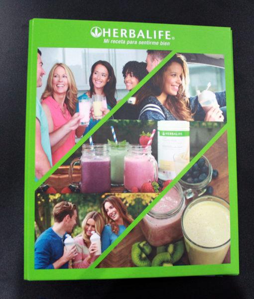 Carpeta Distribuidor Herbalife Nutricion