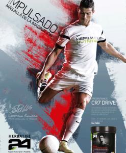 Poster CR7 Christiano Ronaldo Herbalife