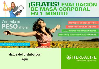 Diseño 5 - Flyer Herbalife