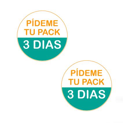 Impresionarte-Xativa-Nutricion-Herbalife-chapas-prueba-paquete-3-dias-pin-azul-naranja-turquesa-pack
