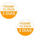 Impresionarte-Xativa-Nutricion-Herbalife-chapas-prueba-paquete-3-dias-pin-naranja-pack