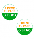 Impresionarte-Xativa-Nutricion-Herbalife-chapas-prueba-paquete-3-dias-pin-naranja-verde-pack-2017-nuevo
