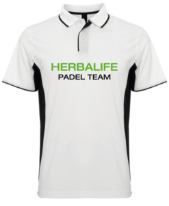Polo Padel Team Herbalife