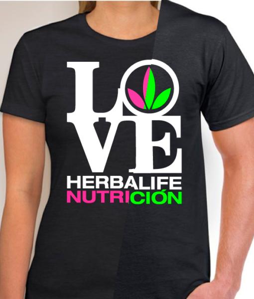 impresionarte-xativa-nutricion-herbalife-camiseta-fosforita-verde-rosa-creativa-veraniega-atractiva-llamativa