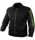 Impresionarte-Xativa-Nutricion-Herbalife-Chaqueta-Tecnica-Woven-Deportiva-Sport-Hombre-Tejido-Transpirable-Chandal-Running-Negro-Verde-Hbl-Spain-Larga-Black-Jaket