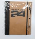 impresionarte-xativa-nutricion-herbalife-h24-libreta-bloc-notas-apuntes-blancos-a5-cartilla-cuaderno