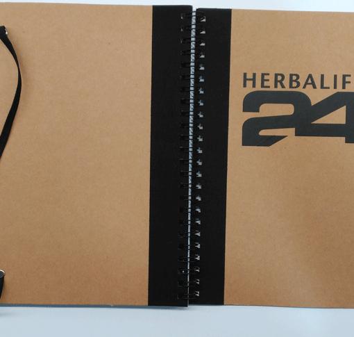 impresionarte-xativa-nutricion-herbalife-h24-presente-regalo-apuntes-notas-cartilla-obsequio