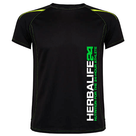 Impresionarte-Xativa-Nutricion-Herbalife-camiseta-tecnica-H24-unisex-Athlete-nutrition-black-negro