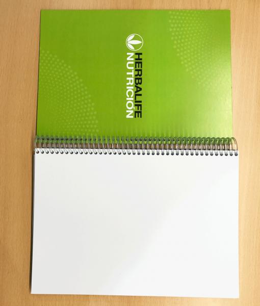 impresionarte-xativa-nutricion-herbalife-libreta-notas-bloc-cuaderno-apuntes-hojas-blanco-bocetos-borrador-informacion-agenda-bienestar-clases-esquemas-sistema-nacional