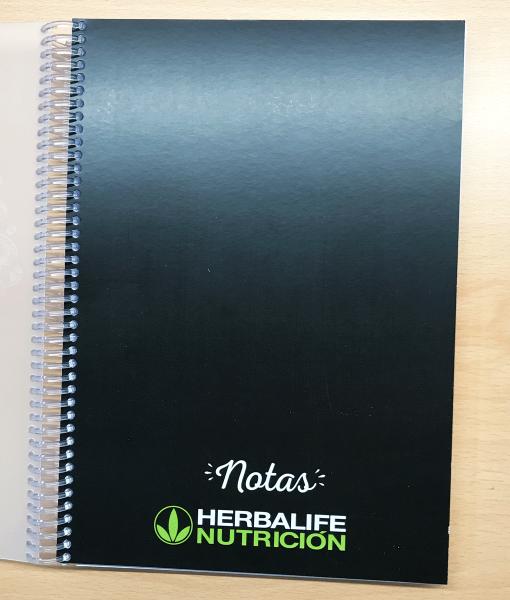impresionarte-xativa-nutricion-herbalife-libreta-notas-bloc-cuaderno-apuntes-hojas-blanco-bocetos-borrador-informacion-bloc-libro-blanco-folio-gusanillo-notebook-estudios-clase
