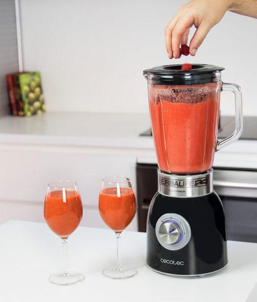 Impresionarte-Xativa-Nutricion-Herbalife-Batidora-Power-Batipower-1000-batido-shake-smoothie-verdura-fruta-copa-granizado-hielo-negro-picadora-tritura-mezcla-potencia