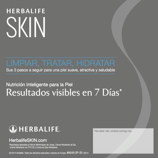 Impresionarte-Xativa-Distribuidores-Herbalife-Nutricion-Imprenta-Folleto-Skin-Resultados-Cuidado-Piel-Inteligente-Externa-Limpiar-Tratar-Higiene-Hidratacion-Expertos-Varon-Man-Ellos-7-Dias