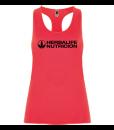 Impresionarte-Xativa-Distribuidores-Herbalife-Nutricion-Imprenta-Camiseta-Shirt-Salmon-Naranja-Rosa-Mujer-Deporte-Lycra-Deportiva-Gym-Entrene-Fit-Fitclub-Fitness-Nadadora-Tirantes-Sport