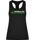 Impresionarte-Xativa-Herbalife-Nutricion-Camiseta-Tirantes-Deportiva-Gimnasio-Running-Sudar-Transpirar-Tecnica-Correr-Carrera-Negra-Sporty-Shirt