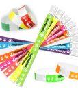 Impresionarte-Xativa-Herbalife-Nutricion-Pulseras-Evento-Fiesta-Entrada-Ticket-Control-Papel-Brazalete-Entrada-Numero-Colores-Variado