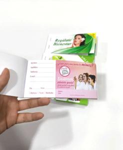 Impresionarte-Xativa-Nutricion-Herbalife-talonario-mini-regalate-skin-cliente-vale-regalo-flyer-invitacion-cita-tarjeta-visita-asesor-estudio-bienestar-tratamiento-spa-facial-negocio-elegir